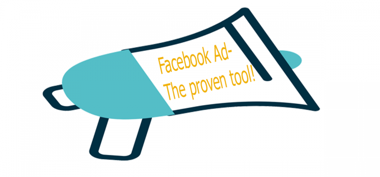 facebook ad- the proven tool!