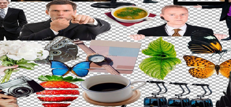 cut out image collection for business