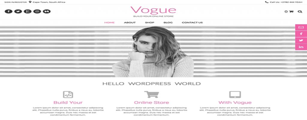 vogue best free wordpress themes