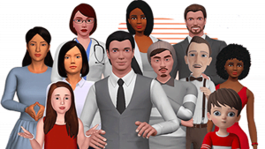 3D avatar maker for business