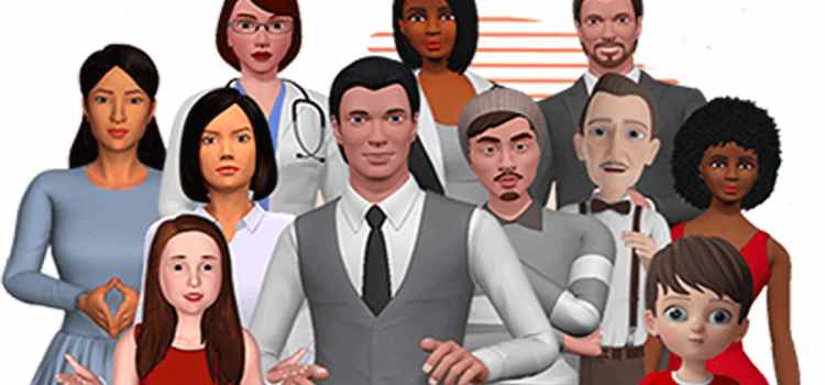3D avatar maker for business