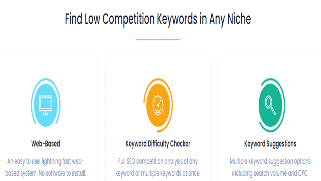 long tail keywords tool for any niche!