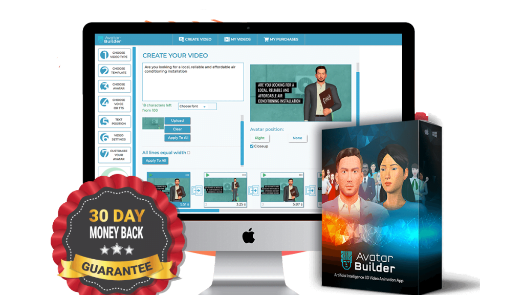 3D avatar maker for any business!