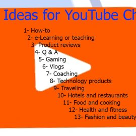 Video Ideas for YouTube Channel to make huge profits