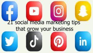 social media marketing tips!