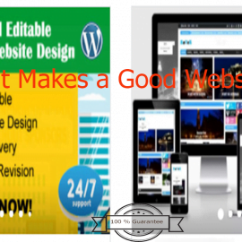 what makes a good websites?