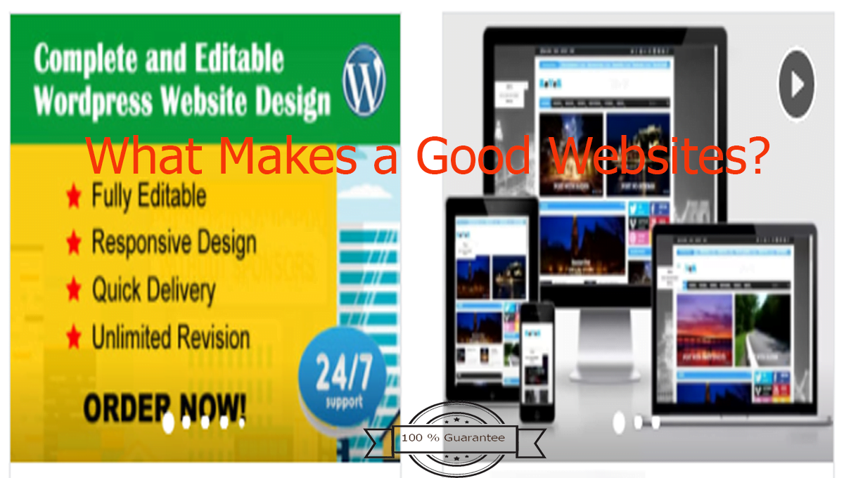 What makes a good websites