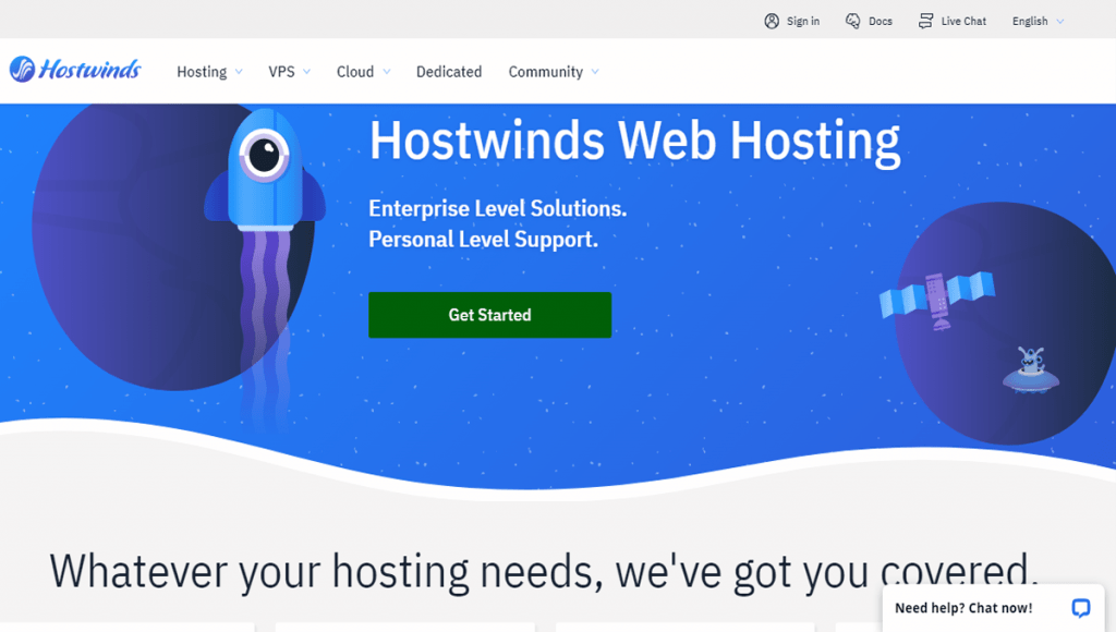 Hostwinds review by ziligma