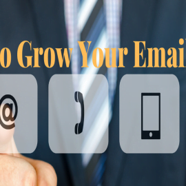 how to grow your email list for any website...