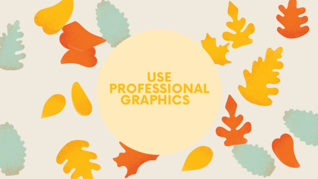 blogging tips-professional graphics